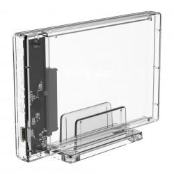 "Carcasa externa Enclosure Orico HDD 2,5"" USB-C 3.1 + cabluri (USB 3.0 oraz USB-C)"