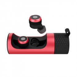 Casti Nillkin TW004 GO TWS True Wireless Earphones Bluetooth 5.0 IPX5 water-resistance red (TW004 GO red)