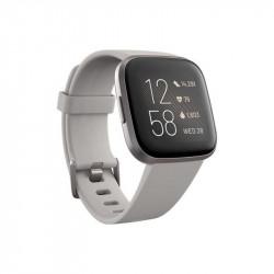 Ceas smartwatch Fitbit Versa 2, NFC, Stone/Mist Grey