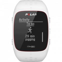 Ceas Smartwatch Polar M430, GPS, HR, Alb