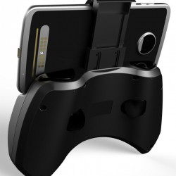 Controler Bluetooth iPega, Gamepad cu stand smartphone maxim 5.5 inch, Android