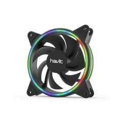 Cooler gaming Havit F2092 RGB 120mm 1200 RPM