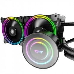 Cooler procesor AiO Darkflash TR-240 RGB (Double, 120x120)