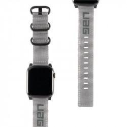 Curea material textil UAG Nato Strap - Apple Watch 44/42 mm Gri