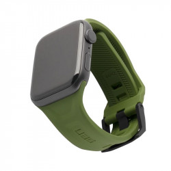Curea silicon UAG Scout Strap Apple Watch 42/44mm olive