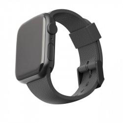 Curea silicon UAG U Silicone Strap Apple Watch 44/42 mm negru