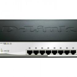 DLINK SW 8P-GB 2CMB SMART RM