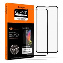 Folie protectie Spigen de sticla 2x pentru iPhone 11 Pro
