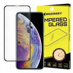 Folie protectie Wozinsky PRO + 5D Full Glue pentru iPhone 11 Pro / iPhone XS / iPhone X black