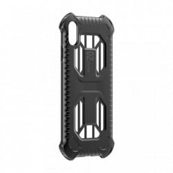 Husa protectie cu gauri pentru ventilatie, Baseus Cold Front, pentru iPhone XR, negru
