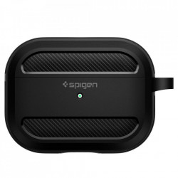 Husa Spigen Rugged Armor Airpods Pro Matte Black