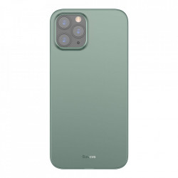 Husa telefon Baseus Wing Case Ultrathin iPhone 12 PRO Max Green (WIAPIPH67N-06)