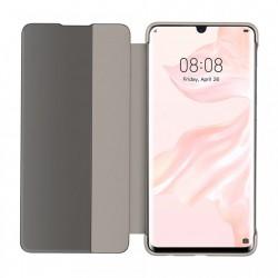 Husa telefon cu fereastra inteligenta Baseus Smart View Flip Cover pentru Huawei P30 , maro