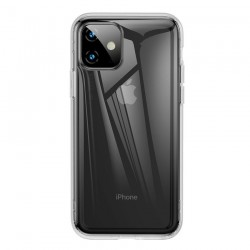 Husa telefon cu margini intarite , Baseus pentru Apple iPhone 11 , transparenta