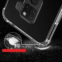Husa telefon cu margini intarite MSV pentru Huawei Mate 20 Pro transparenta