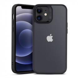 Husa telefon ESR Classic Hybrid, black/clear - iPhone 12 mini