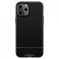 Husa telefon Spigen Core Armor pentru iPhone 12 Pro / iPhone 12 Black