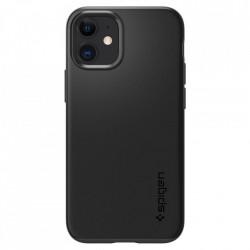 Husa telefon Spigen Thin Fit pentru Iphone 12 Mini Black