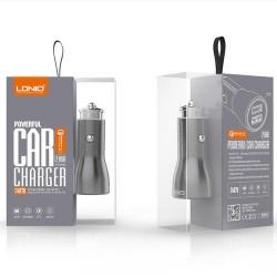 Incarcator auto 3.0A cu cablu IOS – Ldnio