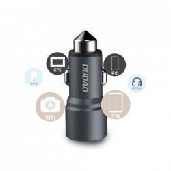 Incarcator auto DUDAO 2x USB 3.1A - auriu
