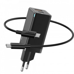 Incarcator Baseus 60W, 20V / 3A, USB la USB Type-C, functie Quick Charge 3.0 - negru