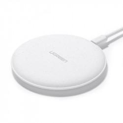 Încărcător wireless Qi UGREEN 10W (alb)