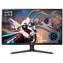 """Monitor Gaming LED VA LG , 31.5"""", WQHD, 144 Hz, HDMI, DP, FreeSync, Flicker safe, pivot, 32GK850F-B"""