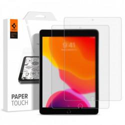 Pachet 2 folii protectie Spigen Paper Touch 2-Pack Ipad 7/8 10.2 2019/2020