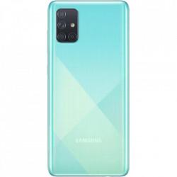 SAMSUNG Galaxy A71 Dual Sim Fizic 128GB LTE 4G Albastru Prism Crush 8GB RAM