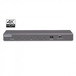 Splitter HDMI Marmitek cu 4K60 (4:4:4) si suport UHD, Split 614 UHD 2.0 – 1 in/ 4 out