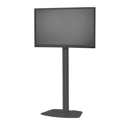 Stand TV podea fix Vogels F1544 / F1844 / F2044 NEGRU ptr TV cu diagonala de pana la 200cm, max 80 kg