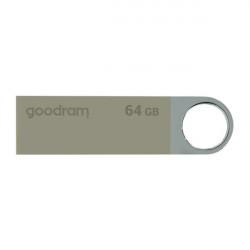 Stick USB Goodram pendrive 64 GB USB 2.0 20 MB/s (rd) - 5 MB/s (wr) flash drive silver (UUN2-0640S0R11)