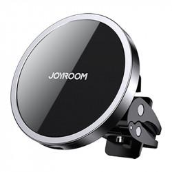 Suport auto cu incarcare wireless, compatibil Apple MagSafe , Joyroom black (JR-ZS240)