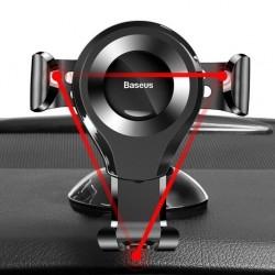 Suport Baseus Auto Osculum Type Gravity Black (cu ventuza)