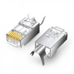 10 x conectori RJ45 Ugreen 8P8C Cat 6A Cat 7 (70316)