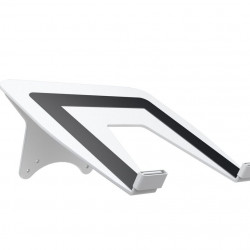 Adaptor M Laptop Holder Multibrackets 7518, montabil pe brate Gas Lift Multibrackets, Alb