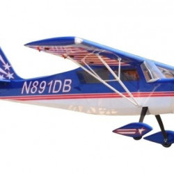 Aeromodel Pilot RC Decathlon 80cc 3100mm - albastru