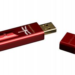 Amplificator de casti si DAC AudioQuest DragonFly Red