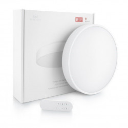 Aplica smart Xiaomi Yeelight, lumina alba calda si rece, Cozy Moonlight, IP60, 2000 lumeni, Wi-Fi, A++