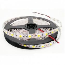 Banda LED 12V, 14.4W/M 60LED/m IP20, R5050 4100K - rola 5m