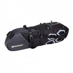 Borseta bicicleta cu prindere sub sa,Wozinsky 12 L negru (WBB8BK black)