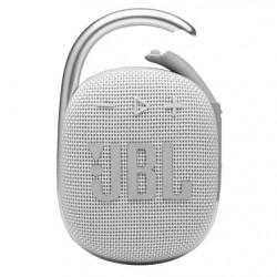 Boxa portabila JBL Clip 4, Bluetooth, IP67, 10H, Alb