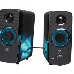 Boxe active gaming JBL Quantum Duo, 2.0, 20W, 3.5mm, PC Splitter, Negru
