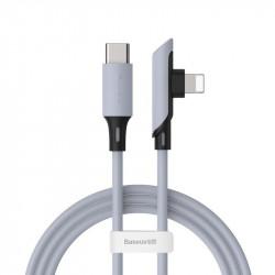 Cablu Baseus USB-C la Lightning 18W 1.2m - purpuriu