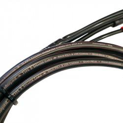Cablu boxe bulk Audioquest Star-Quad Series Type 5, manta PVC, vanzare la metru