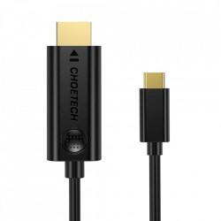 Cablu Choetech USB Type C - HDMI 4K 30Hz 3m black (XCH-0030)