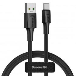 Cablu de date Baseus USB - USB Type C VOOC Quick Charge 3.0 5 A 1 m negru (CATSW-F01)