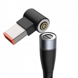 Cablu incarcare, magnetic Baseus Zinc pentru laptop Lenovo USB de tip C la DC Port 100W 2m negru (CATXC-U01)