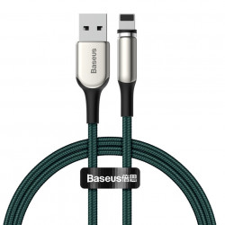 Cablu magnetic Baseus Zinc Lightning USB 2A 1m verde