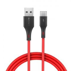 Cablu USB-C BlitzWolf BW-TC15 3A 1.8m (rosu)